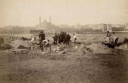 pierwsze łopaty 1888