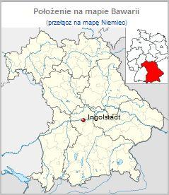 Mapa Ingolstadt