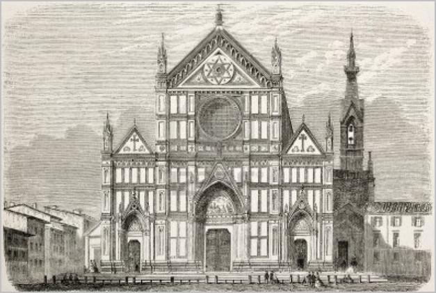 Rysunek z 1863 Paryż
