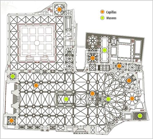 plan katedry