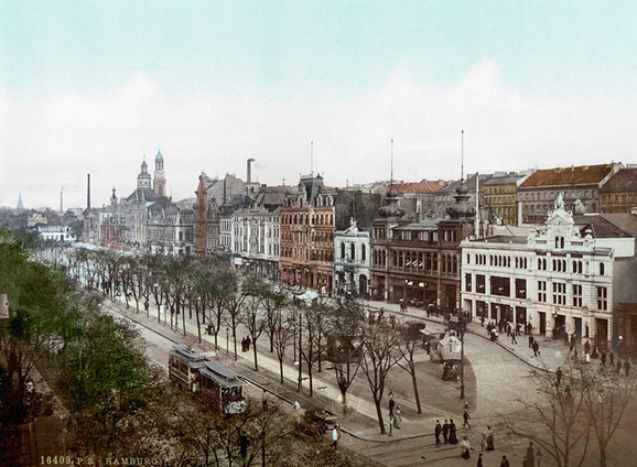 spielbudenplatz 1900