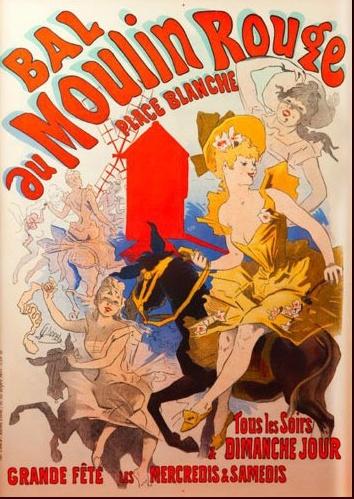 1889 pierwszy plakat