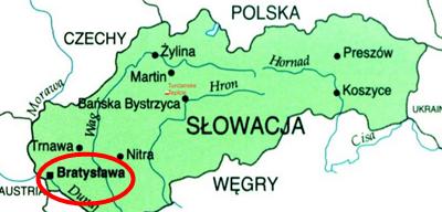 kolor Słowacja