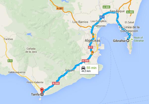 gibraltar - Tarifa